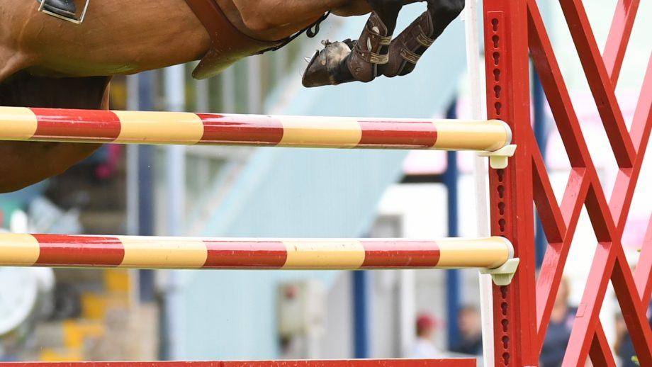 improve jump-off turns A showjumper