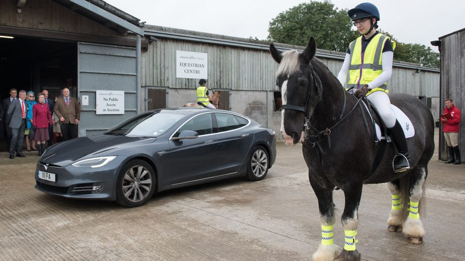 Alfa Power electric cars research british horse society