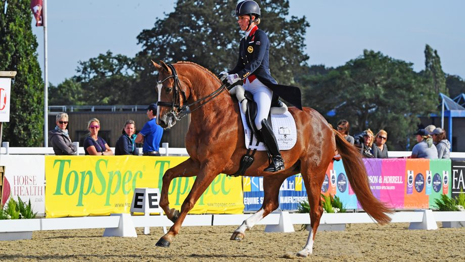 Charlotte Dujardin on her 'Tokyo contender' who wowed the crowds at Stoneleigh *H&H VIP*