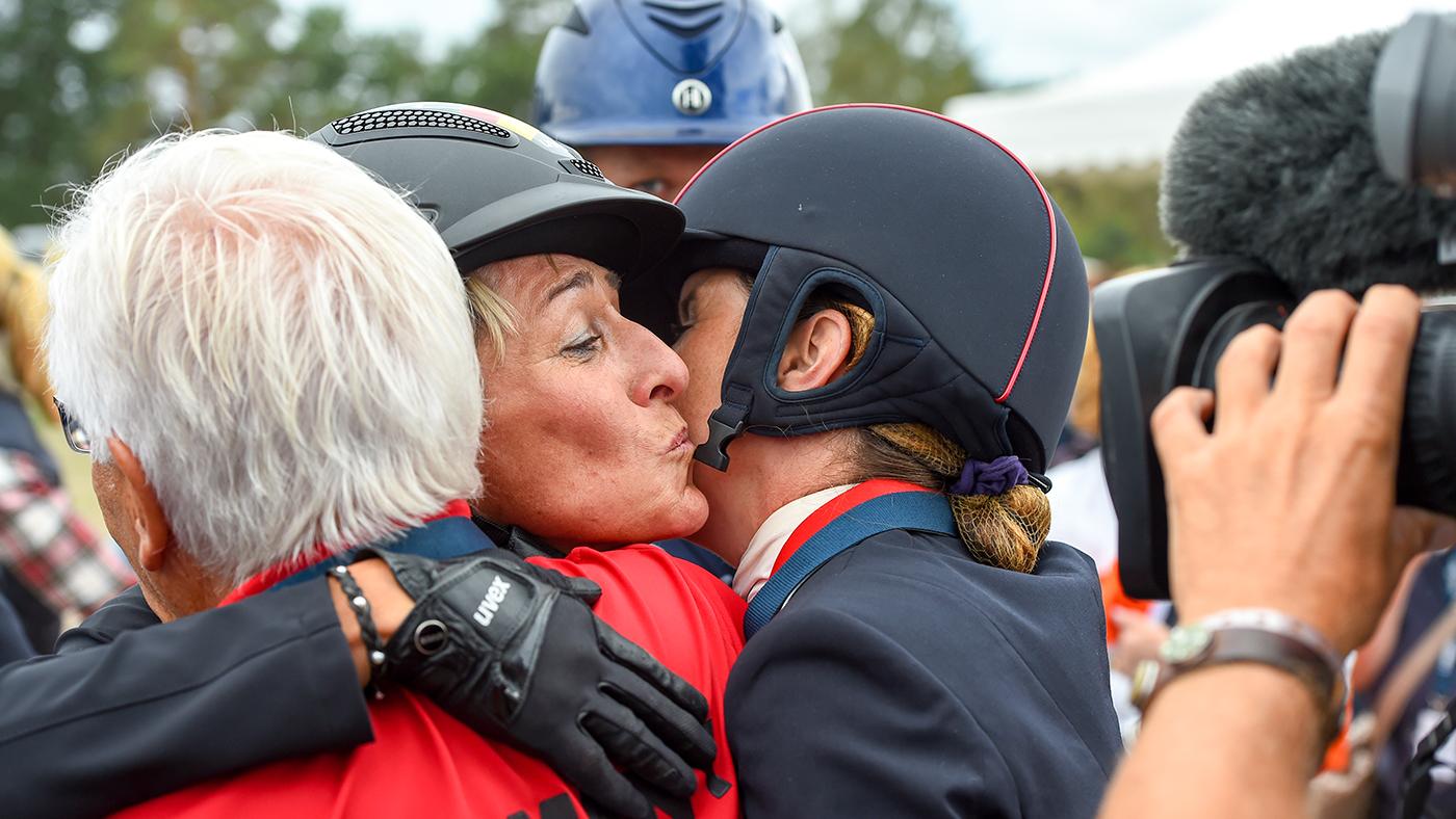 11 momentos que amamos no Campeonato Europeu de Equitação, de cabras peludas a duns e beijos 9