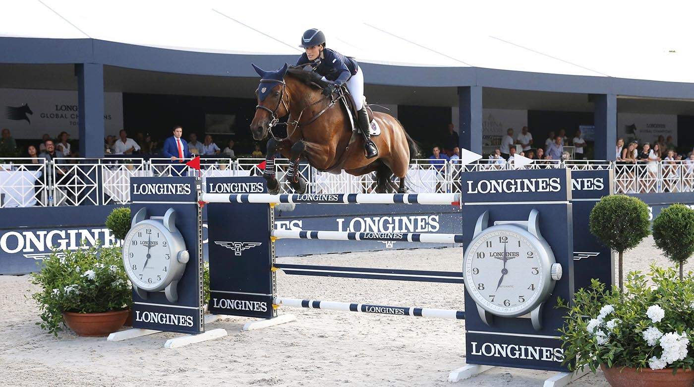 'I'm still in shock' — Jessica Springsteen claims her showjumping first - Horse & Hound
