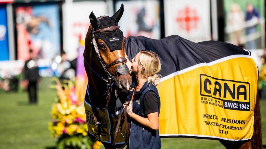 Eric Lamaze's groom on comebacks, tricky horses, stress and the Olympics