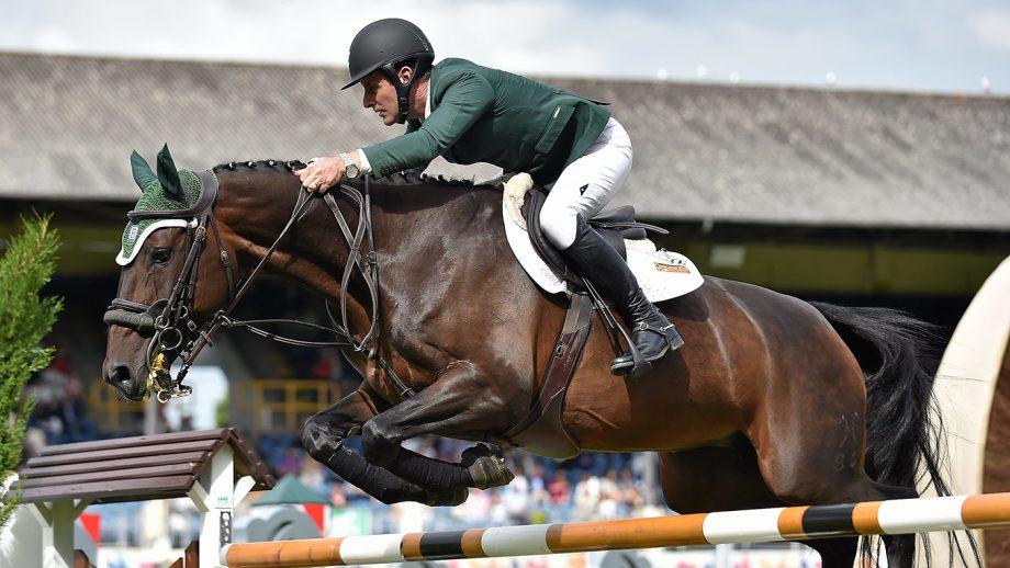 Irish Olympic showjumper Kevin Babington
