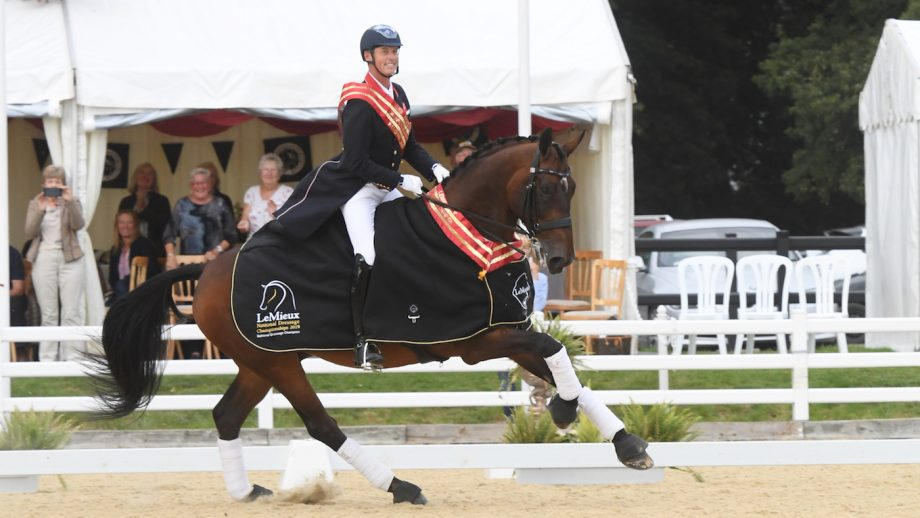 Carl Hester wins 10th national champion title: 'double figures on Nip Tuck is the icing on the cake'