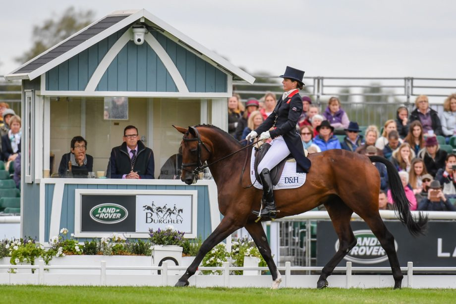 Piggy French holds joint lead at Burghley: 'I thought maybe she'd get excited, but she kept her brain'