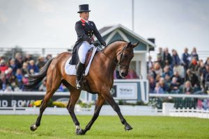 Burghley dressage 2019 Pippa Funnell