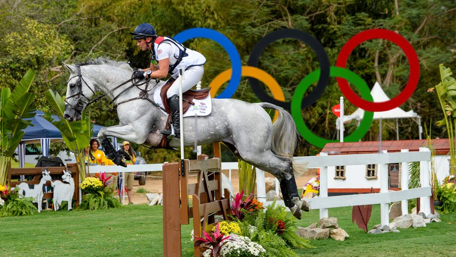 Gemma Tattersall and Quicklook V at the Rio Olympics.