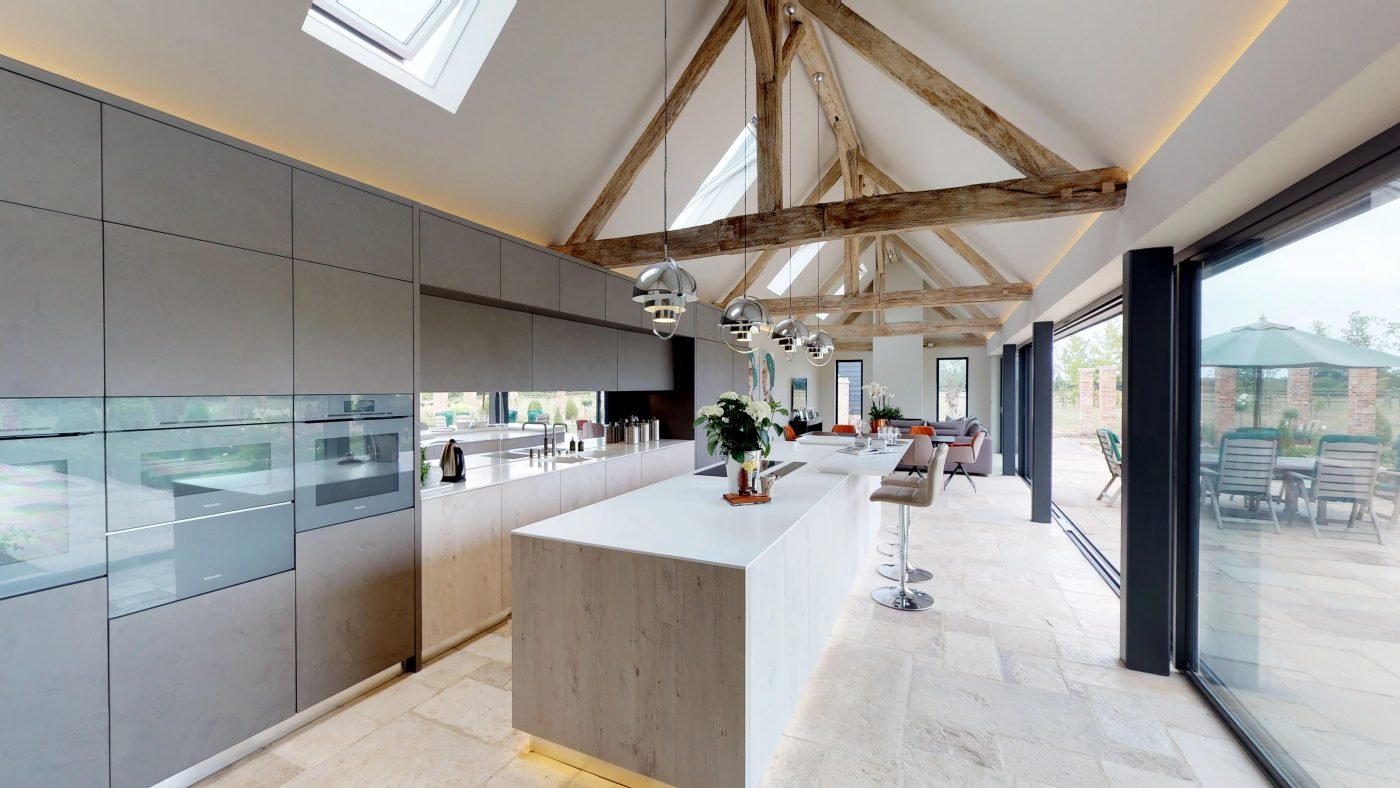 Do you have a spare £5.5m for this newly built property with five stables and nine acres in a sought-after location?