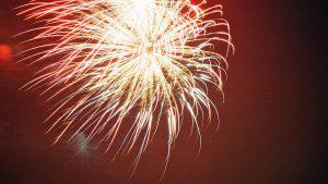 Sainsbury's fireworks