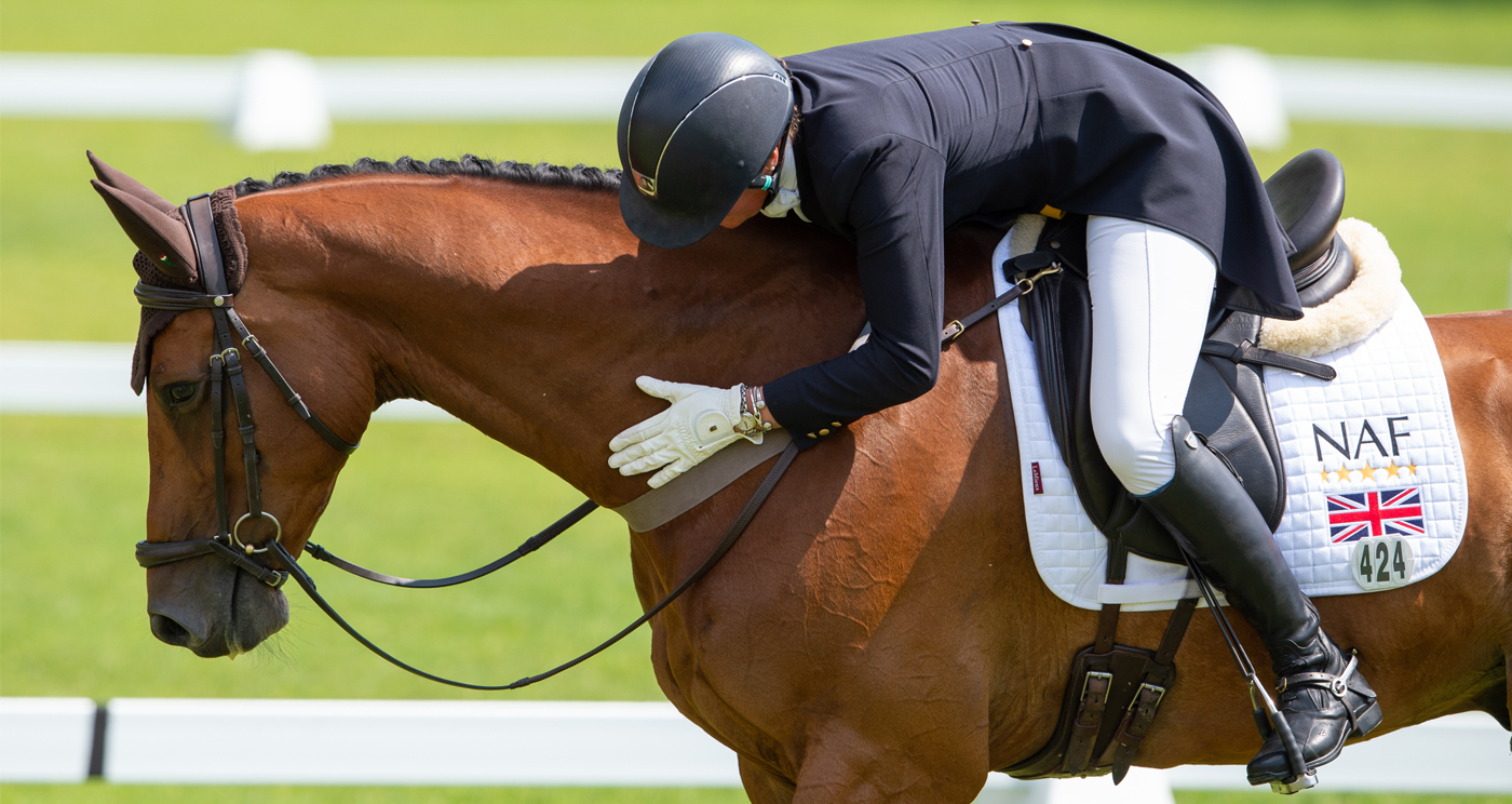 The role of gastric support in top performance *Promotion* - Horse & Hound
