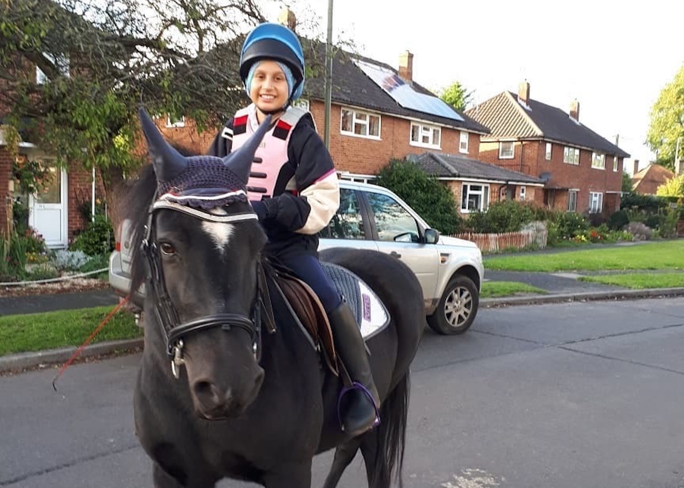 Young rider with incurable leukaemia to enjoy Olympia 'magic' thanks to strangers' generosity - Horse & Hound
