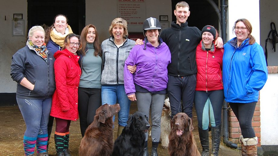 The team at Kingstone Riding Centre is like 'one big family'