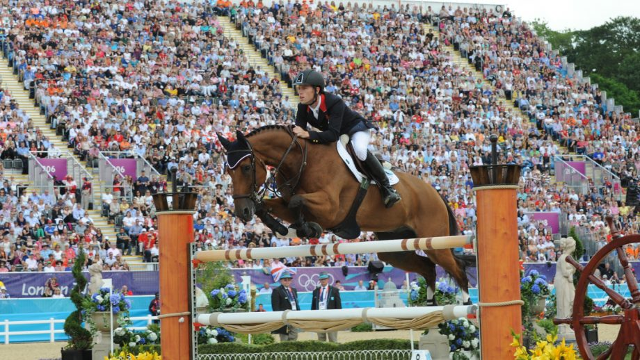 What is showjumping? Scott Brash and Hello Sanctos demonstrate the required skill at the London Olympics