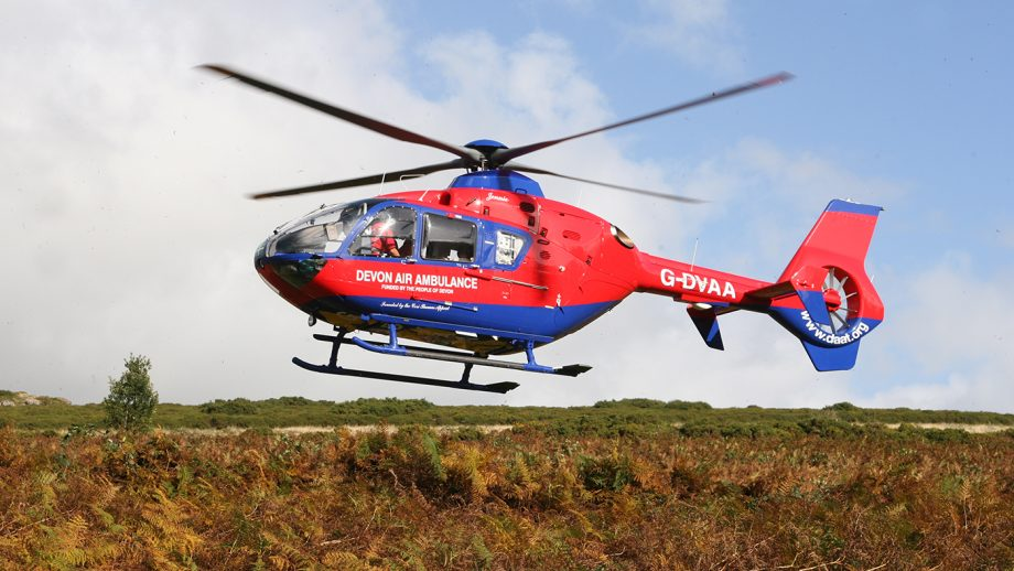 The What3Words app helps emergency services pin point the location of an injured rider