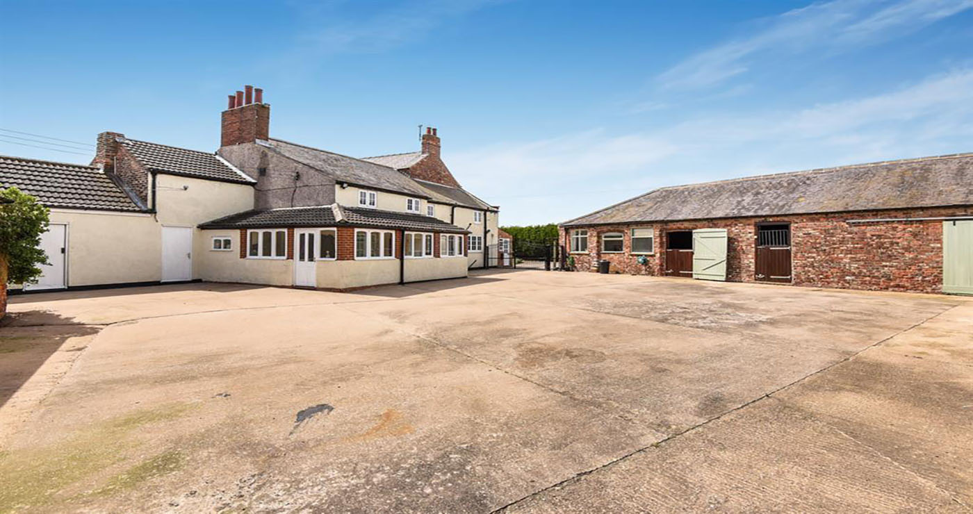 A Yorkshire bargain? How much would you pay for a period farm house with a couple of stables set in glorious countryside? - Horse & Hound