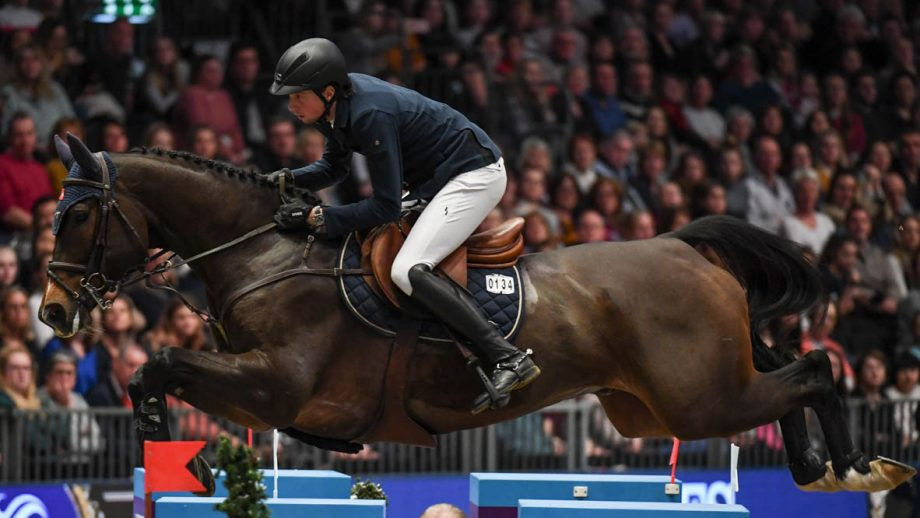 at Olympia, The London International Horse Show held at Olympia in London in the UK, between the 16-22 December 2019