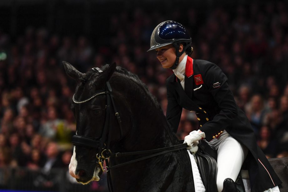 during Olympia, The London International Horse Show held at Olympia in London in the UK, between the 16-22 December 2019