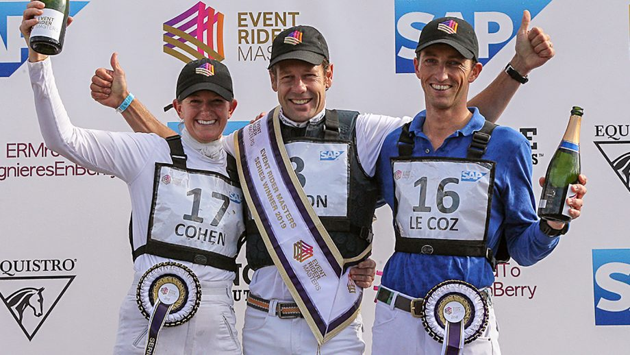 Event Rider Masters podium at Lingnieres in 2019