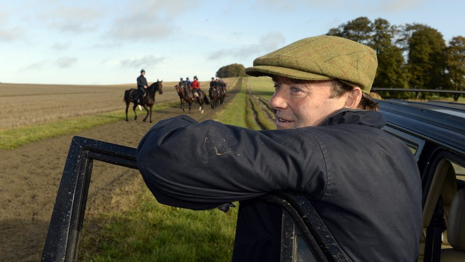 Nicky Henderson, top National Hunt trainer