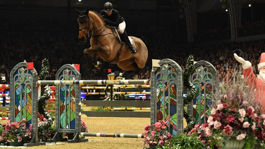 Holly Smith riding Hearts Destiny (GBR) 3rd in The Turkish Airlines Olympia Grand Prix at Olympia, The London International Horse Show held at Olympia in London in the UK, between the 16-22 December 2019