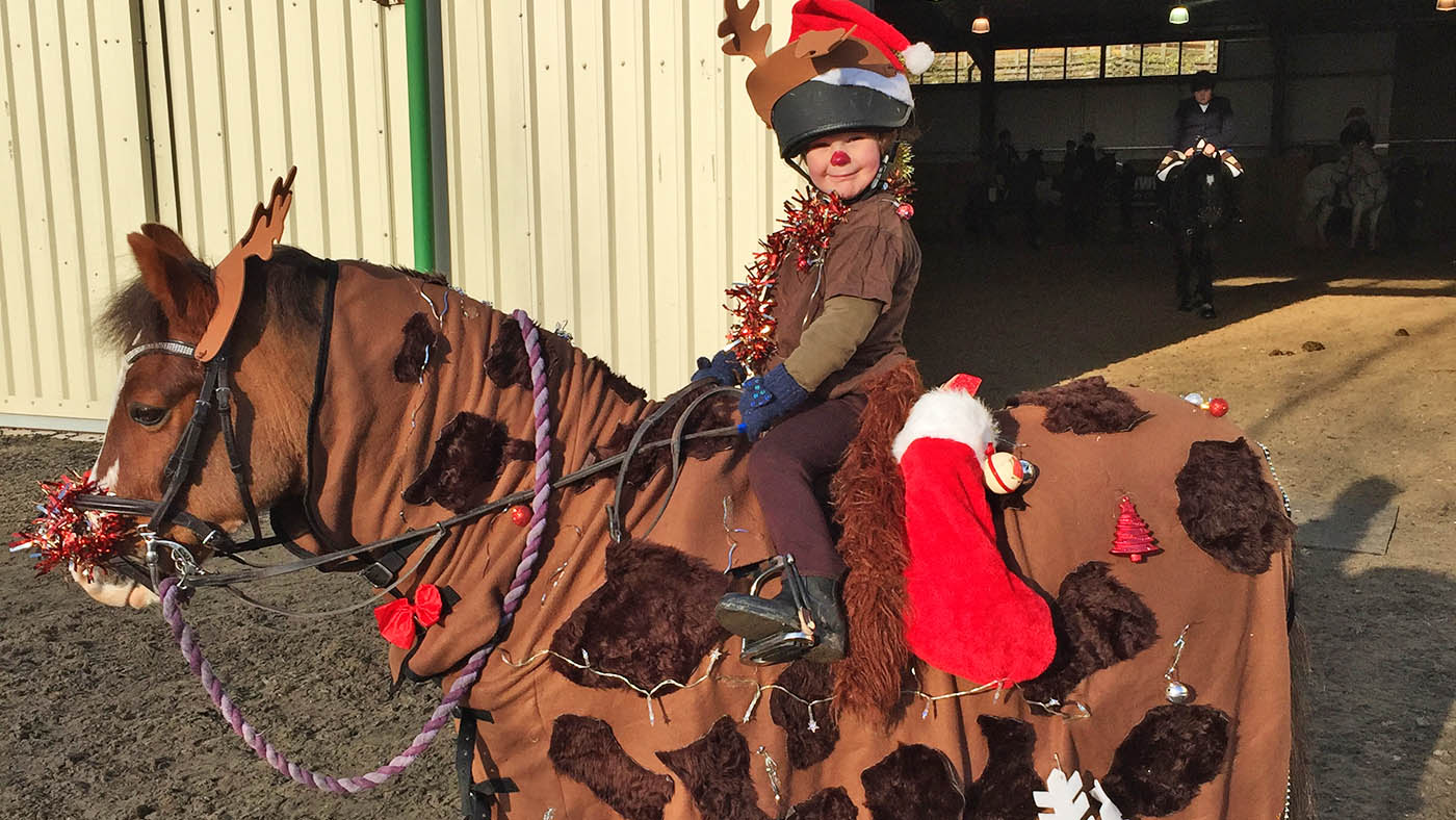 Get Into The Festive Spirit 17 Christmas Fancy Dress Ideas For Riders Of All Ages And Their Reindeer Mounts Horse Hound