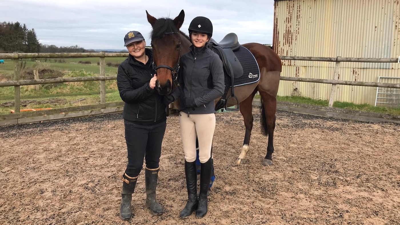 Rider given weeks to live thanks 'amazing' friends for carrying on her legacy