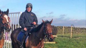 Joe Whitaker is preparing for his National Hunt racing debut