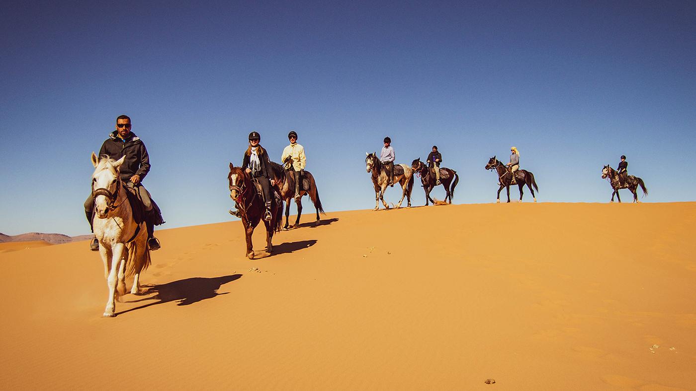Exploring the Sahara on horseback *H&H Plus*