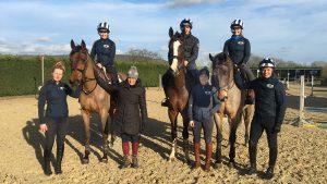 Windrush Foundation training Pippa Funnell