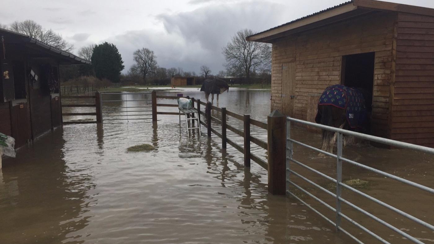 Owner hit by nine devastating floods 'overwhelmed' by public generosity - Horse & Hound