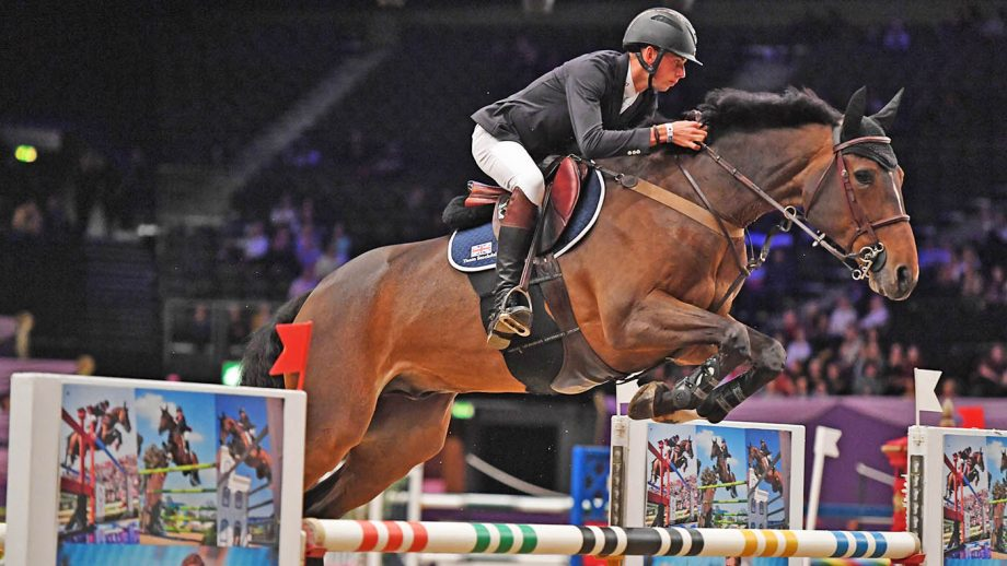 International Showjumping - Take Yourr Own Liine during the Horse of The Year Show at the NEC in Birmingham in the UK between the 2nd - 6th October 2019