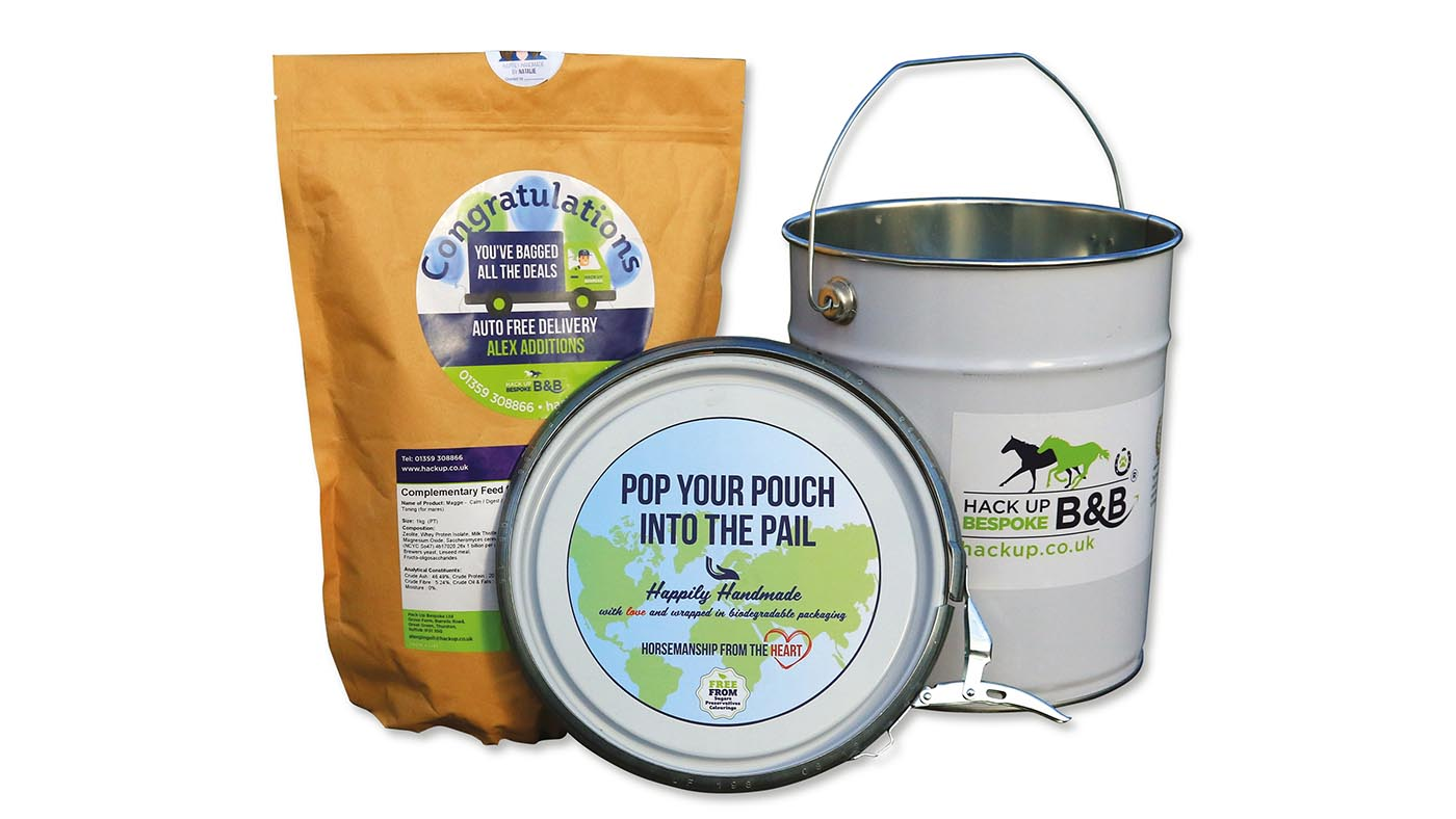 Hack Up hoof supplements for horses