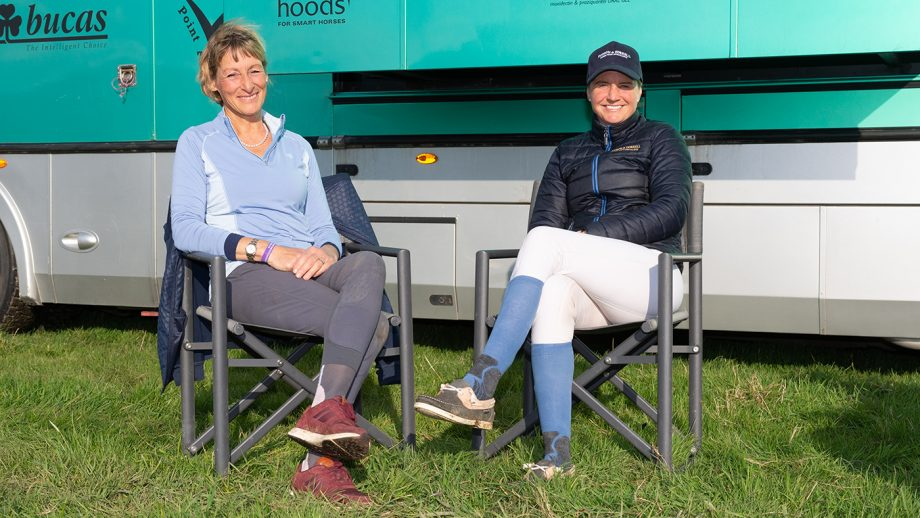 Piggy French interviews Mary King - Dodson & Horrell Chatsworth International Horse Trials 2019