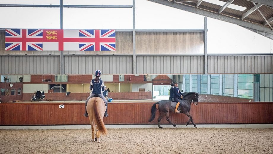 Carl Hester and Charlotte Dujardin have a purely professonal working relationship