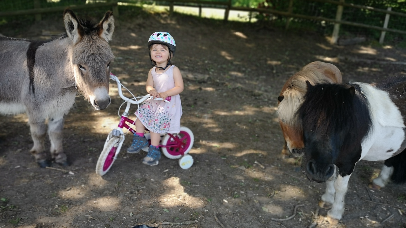 Two-year-old rider turns to cycling to raise vital funds - Horse & Hound