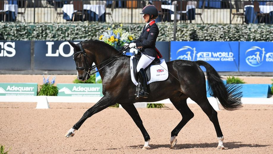 C Fatal Attraction has been ruled out of the British squad for the Tokyo Paralympic dressage owing to a fitness issue