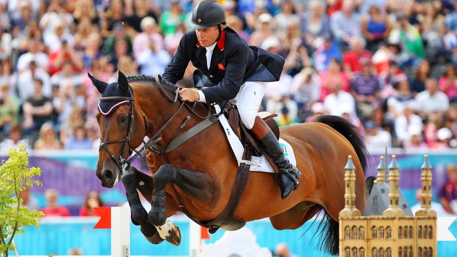 LONDON, ENGLAND – AUGUST 08: Nick Skelton of Great Britain riding Big Star competes in the Individual Jumping Equestrian on Day 12 of the London 2012 Olympic Games at Greenwich Park on August 8, 2012 in London, England. (Photo by Alex Livesey/Getty Images)