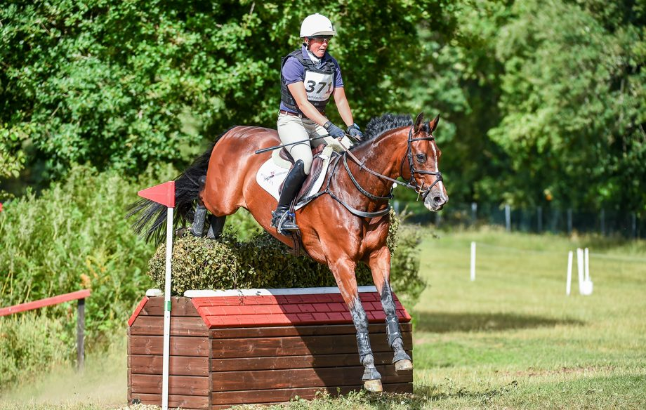 Cross-country warm-up tips from event rider Flora Harris