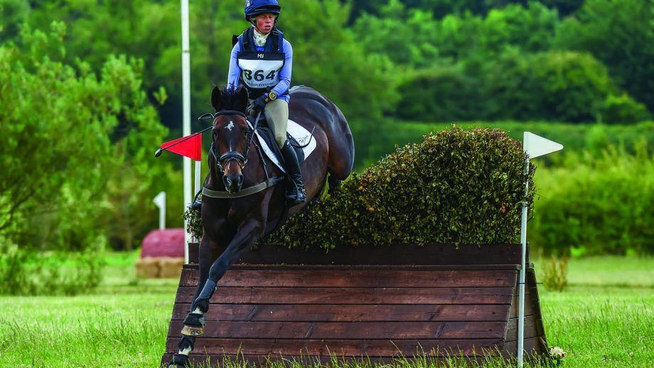 World champion Ros Canter pilots Annie Makin and Kate James' Pencos Crown Jewel, who competed at four-star last year with Tom Jackson during Ros's maternity leave, to fifth in an open intermediate
