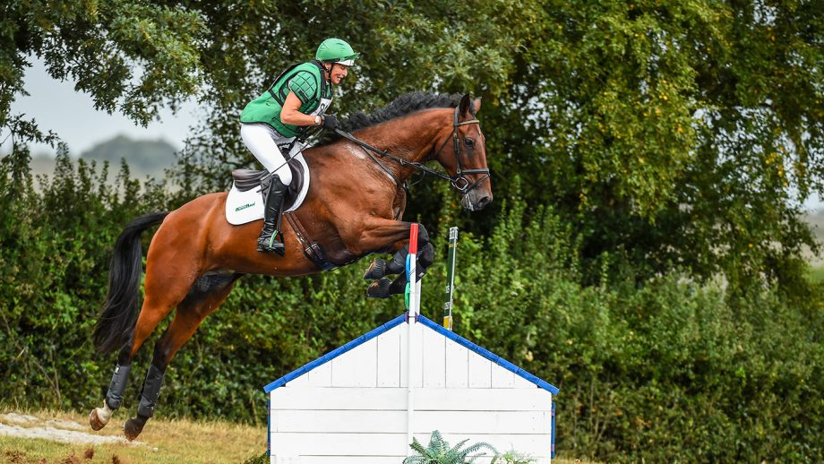 Mary King riding KING ROBERT II in OI Section Q during Bicton Arena (2) Horse Trials in East Budleigh near Exmouth in Devon in the UK on the 26th July 2020