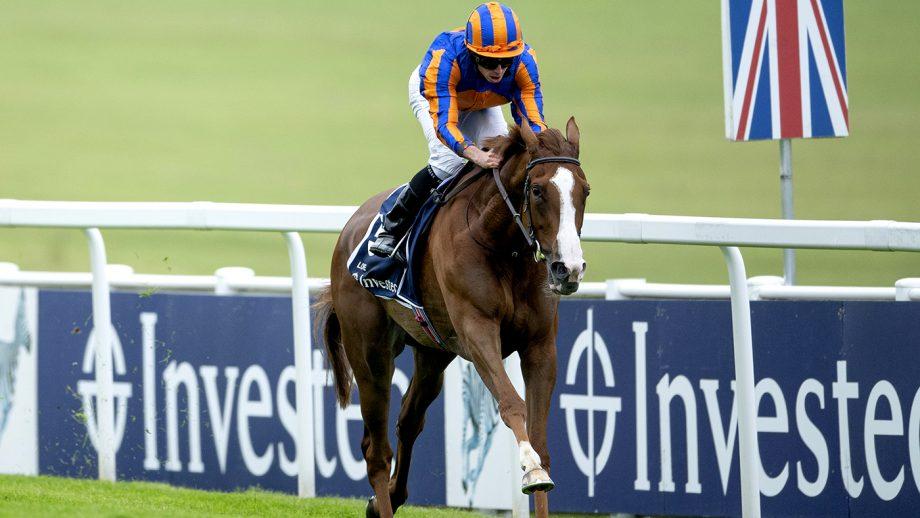 Epsom Oaks bets Love ridden by jockey Ryan Moore wins the Investec Oaks at Epsom Racecourse.