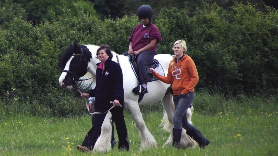New research by disability charity Leonard Cheshire has found riding tops the para sport opportunities in the UK.