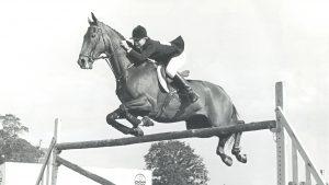 Ann Moore riding Psalm