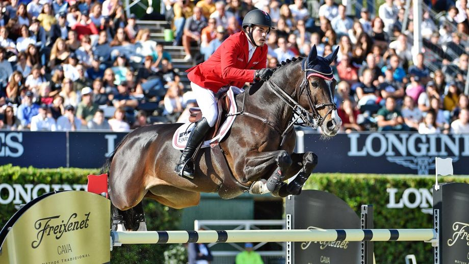 The showjumper's positive dope took place at the St Gallan Nations Cup