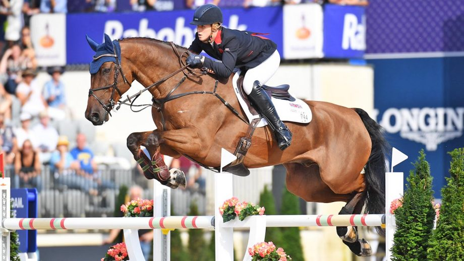 Holly Smith's top rider Hearts Destiny has been put down age 11