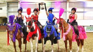 British Riding Clubs quadrille winners