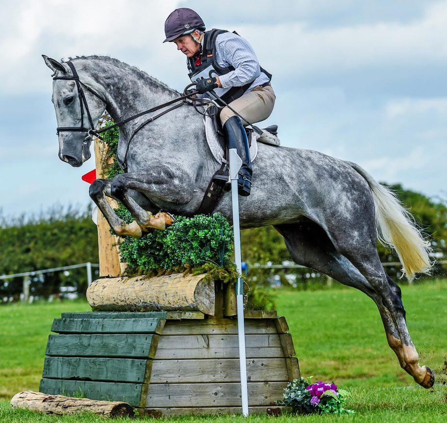 Ian Stark winning at Burgham 2020 on Chatsworth Diamond