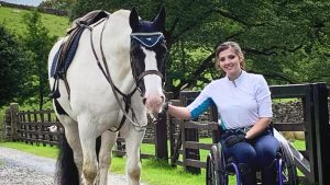Jemima Croft has ambitions to become a disabled worker in the equestrian industry