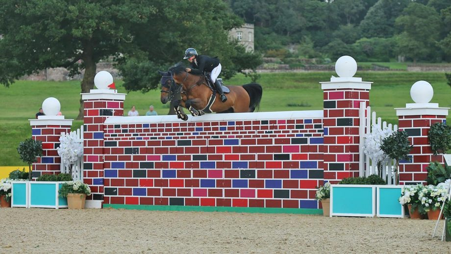 Louise Saywell showjumper