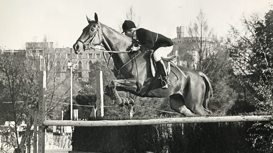 Princess Anne eventing